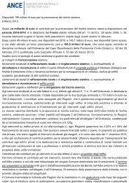 Disponibili 195 milioni di euro per la prevenzione ... - ANCE Catania