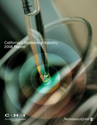 California's Biomedical Industry 2008 Report - California Healthcare ...