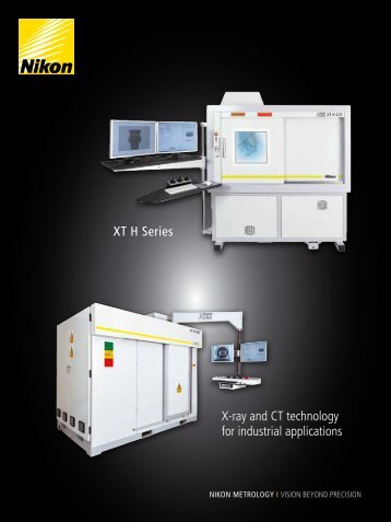 Xt H Series X-ray and cT technology for industrial ... - Packtronic