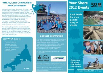 Your Shore 2012 Events - Cornwall Wildlife Trust