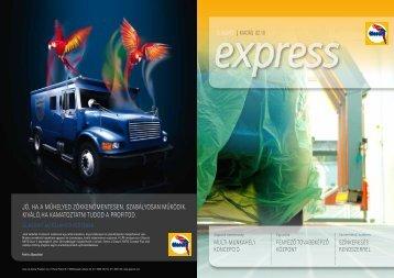 Glasurit Express újság 2010.10 - Toplakk Kft.
