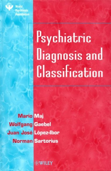 Psychiatric Diagnosis and Classification - ResearchGate