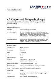 KF Klebe- und Füllspachtel Rapid - Colourandclean.de