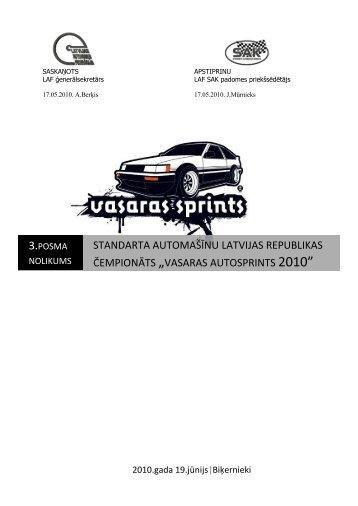 """standarta automaÃ…Â¡Ã""""Â«nu latvijas republikas ... - Vasaras Sprints"""