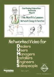Network Design & Function - Security Sales & Integration Magazine