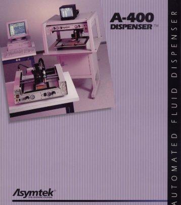 Asymtek 400 Series Specifications