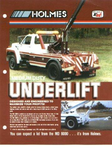 Holmes - MD8000 Medium Duty Underlift
