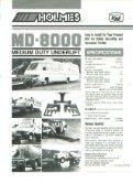 Holmes - MD8000 Medium Duty Underlift - Page 2