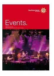 Exhibitions - Switzerland Tourism