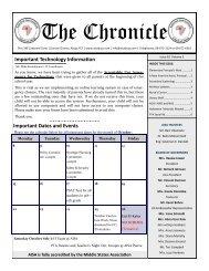 AISA Chronicle AISA Chronicle Volume 3 Issue 8