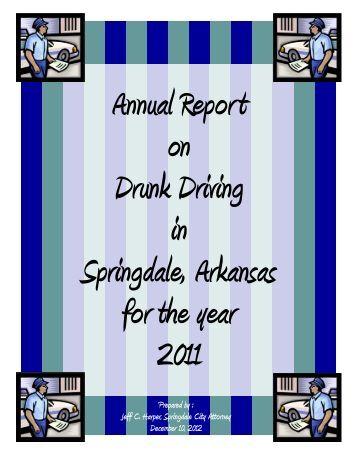 Prepared And Presented To Springdale City City Of Springdale