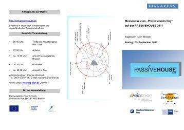 Flyer mit Anmeldeformular - Energieagentur Region Trier