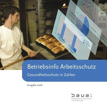 Betriebsinfo Arbeitsschutz - Bundesanstalt für Arbeitsschutz und ...