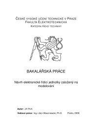 Návrh elektronické řídicí jednotky založený na modelování - wiki