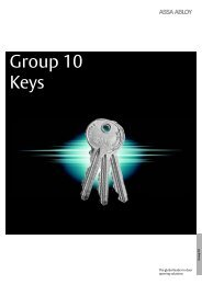 Group 10 - Keys - Assa Abloy