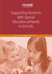 Supporting Students with Special Educational Needs in ... - West