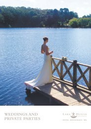 Download our Wedding Compendium - Lake House