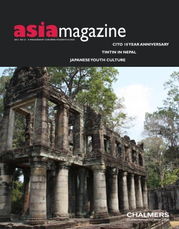 Asia Magazine no 21 - Chalmers International Taiwan Office