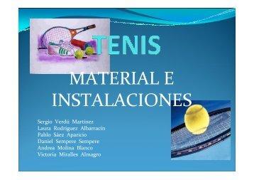 Tenis (II). - Miguel Crespo
