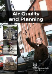 Air Quality and Planning - Basingstoke and Deane Borough Council