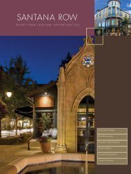 For short-term leasing opportunities, download a ... - Santana Row