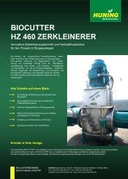 BIOCUTTER HZ 460 Zerkleinerer_2 - Huning Maschinenbau