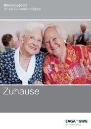 Wohnanlagen für Senioren - Saga GWG