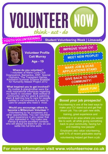 Limavady - Volunteer Now