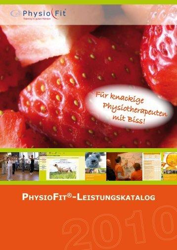 Für knackige Physiotherapeuten mit Biss! - PhysioFit