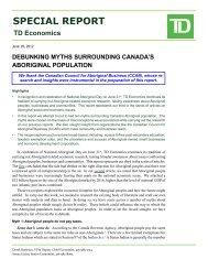 Debunking Myths Surrounding Canada's Aboriginal Population