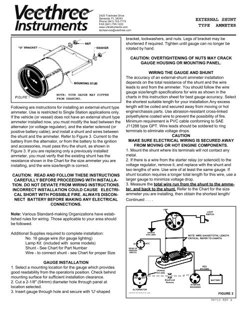 EXTERNAL SHUNT TYPE AMMETER - Veethree Instruments on fuel gauge voltage regulator, fuel sender wiring-diagram, fuel gauge wheels, fuel selector switch diagram, fuel gauge fuse, yamaha outboard schematic diagram, fuel sending unit hose diagram, fuel gauge sensor, fuel gauge assembly, fuel pump diagram, fuel gauge brochure,