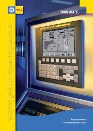 Fanuc Turnmate i Brochures - Ajax Machine Tools