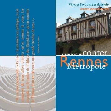Télécharger le fichier PDF - Office de Tourisme de Rennes Métropole