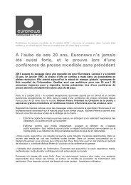 2012.10.02 euronews conférence de presse