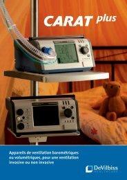 barométriques ou volumétriques, pour une ventilation - megamed ag
