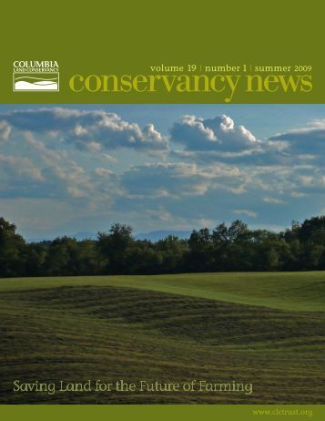 2008 Annual Report and Summer 2009 Newsletter - Columbia Land ...