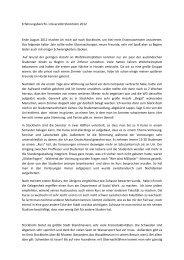 Erfahrungsbericht WS 12/13