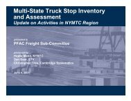 Multi-State Truck Stop Inventory and Assessment - New York ...