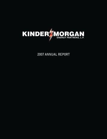 ENERGY PARTNERS, L.P. - Kinder Morgan