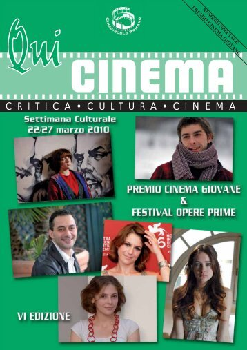 per scaricare la rivista clicca qui - Cine Circolo Romano