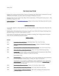 NICOLE RAFTER - Northeastern University