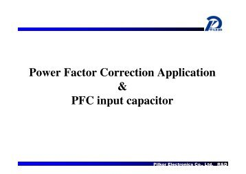 The Power Factor Correction Circuit Simulation And Pfc Inductor