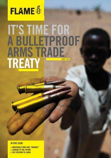 Issue 1, 2012 - Amnesty International