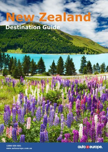 Travel & Driving Guide New Zealand - Services Home