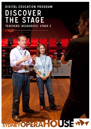 DISCOVER THE STAGE - Sydney Opera House