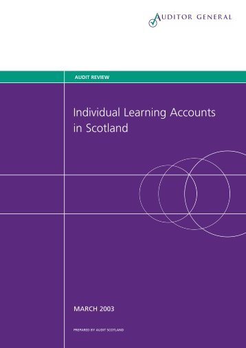 Individual Learning Accounts in Scotland (PDF ... - Audit Scotland