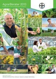 Agrar Berater 2013 - Bayer CropScience Deutschland GmbH