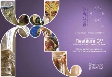 Restaura CV - Generalitat Valenciana