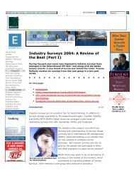 """""""Industry Surveys 2004: A review of the best (Part I)"""", Expatica HR ..."""