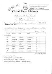tarsu - Comune di Torre del Greco